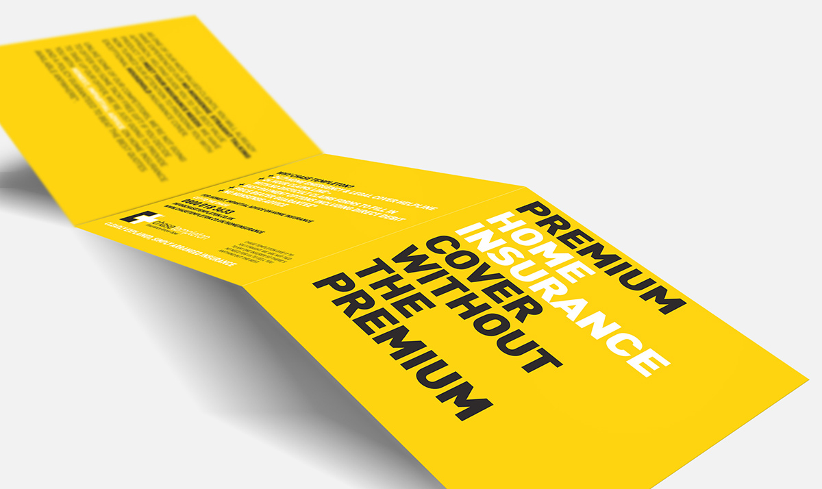 Iconic Brand Agency | Corporate Branding| Chase Templeton Leaflet Design Front Cover