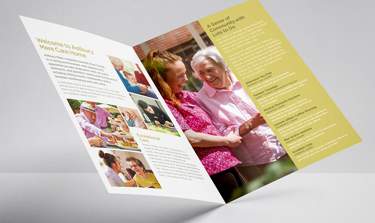 Iconic Brand Agency | Market Branding | Port Haven Left Side Brochure Design