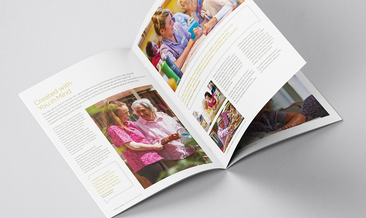 Iconic Brand Agency | Market Branding | Port Haven Brochure Interior