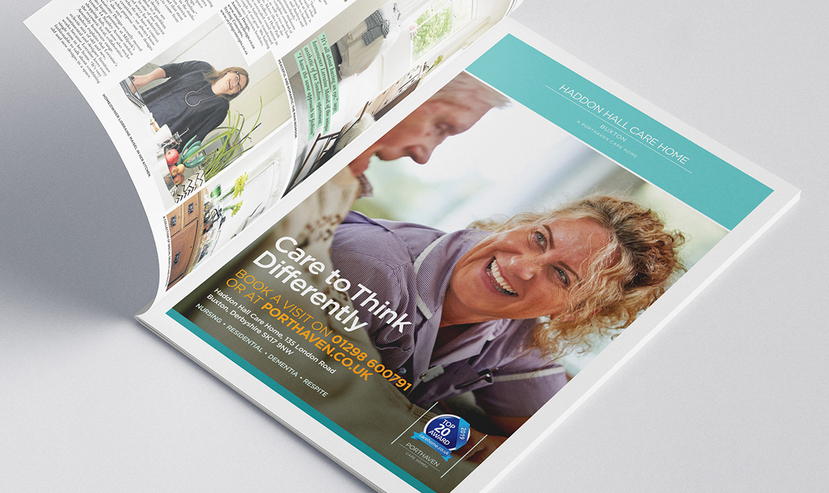 Iconic Brand Agency | Market Branding | Port Haven Brochure Open on Page